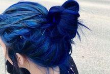 Blue hair / Only blue hair