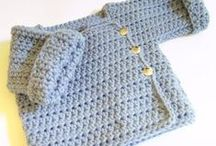 crochet baby boy / ideas for baby boy sawyer / by Janet Sawyer