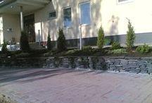 Pihakivetyksiä -Stone paving