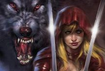 Red <3 Wolf / No pin limits from my boards but I appreciate follows :)