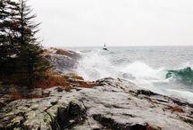coastal vibes. / the ocean calls, I must go