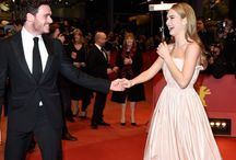 the red carpet. / best of the red carpet, from dresses to  mucking around.....