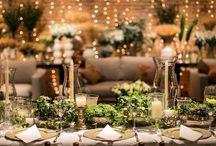 Decoração de Casamento / Inspiração para decoração de casamento.