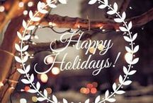 Winter Holidays / Noël-Vacances-hiver