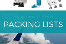 Packing List | Travel Fasion / The best travel packing list for women and men including ski, snow, beach, and adventure destinations. From an expert travel blog.
