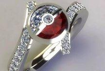 Nerdy engagement rings