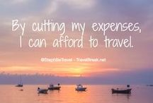 Paying For Travel / Paying for travel can be hard! Read these articles to find tips to pay for travel or find a way to travel for work.