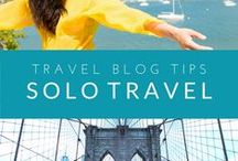 Solo Travel / Tips from a woman who travels solo. Inspiration and resources for your wanderlust. From the travel blog: Travel-Break.net