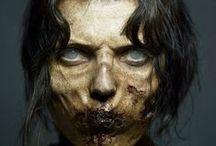 MAKE-UP for FILMS / make-up from film sets people / make-up/ fantasy/