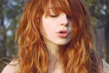 Copper hair inspiration / Copper hair styles, inspiration and ideas.