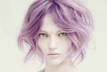 Purple Hair / Purple and violet hair inspiration for The Point Salon, Brighton.