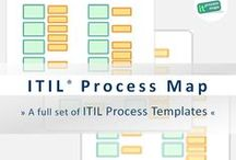 ITIL Process Map / The ITIL® Process Map - ITIL process templates for your ITIL and ISO 20000 initiative.   |   Source: IT Process Maps: en.it-processmaps.com/   --   ITIL® is a registered trade mark of AXELOS Limited.