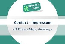 Impressum - Contact / IT Process Maps GbR is a provider of ITIL® and ISO 20000 reference process models for IT organizations. -- Impressum / Legal notice: http://bit.ly/itpmlegal