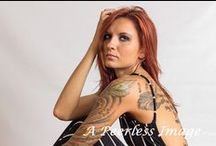 Tattoos / Beautiful women with tattoos; tattoo photography ideas; modeling and posing ideas