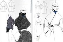 Fashion | Illustration / Could frame some of these