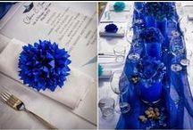 Wedding in Blue / Blue Inspiration Wedding Palette