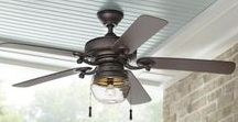 Wall and Ceiling Fans / Keep your room cool with wall and ceiling fans.