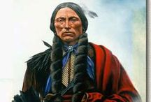 """Comanche Chiefs  / Cuerno Verde, ????-1779, (Cuerno Verde, which translates to """"Green Horn"""" in English, is the Spanish name given to Tabivo Naritgant) --- Iron Jacket, c. 1790-1858 --- Ten Bears, c. 1790-1872 --- Peta Nokona (Nokoni), ????-c. 1864, Father of the last Comanche chief Quanah Parker --- Quanah Parker, c.1845-1911"""