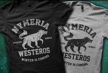 Game of Thrones / Pop culture T-Shirt designs for geeks