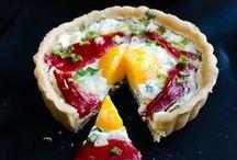Tartes / Des tartes simples ou sophistiquées, idéales en apéro ou en plat.