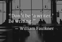 Writing / What would we do without writers?