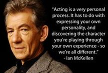 All About Acting / From some of our favourite actors and actresses of stage and screen to books and quotes about acting.
