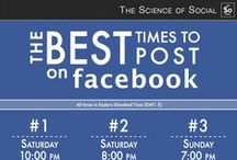Facebook Infographics / Infographics about Facebook tips and best practices. Facebook marketing pins are also on this board along with Facebook usage insights.