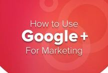 Google Plus Infographics / Infographics about Google Plus including how to maximise your Google+ presence and how to create the ideal Google Plus profile for business.