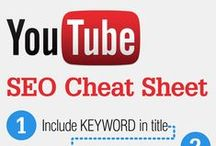 YouTube Infographics / Infographics about YouTube including usage statistics, optimal video creation tips, YouTube advertising and how to curate the perfect YouTube channel.