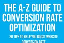 Conversion Optimisation Infographic / Infographics about online conversion optimisation. Best practice for online conversion optimisation including from PPC advertising, email marketing & other digital marketing platforms.