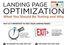 Landing Pages Infographics / Landing pages are important internet marketing tools and these landing page infographics outline some of the key ingredients.