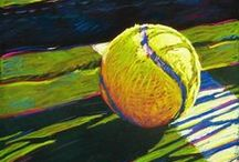 Tennis painting