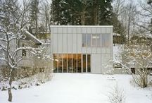 Architecture | Houses / Big, small, compact, airy, colourful, beautifully detailed, simple, sophisticated and eclectic houses I love