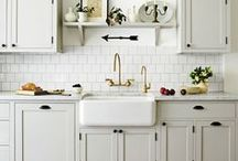 Country Kitchens / Here at Restoration Online we absolutely LOVE Country, Farmhouse & French Provincial Kitchens! Visit our website for Butler Sinks, Traditional Tapware, Vintage Handles and many more Kitchen Fittings. www.restorationonline.com.au