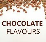 Chocolate flavours / Chocolate can also be healthy... Check out those delicious flavours to get inspired!