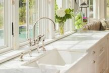 Country Taps / When you walk into your kitchen or bathroom, the sink tap catches your eye. This stunning piece of restoration hardware can set the mood for you entire decor. A stunning country kitchen tap or bathroom faucet will bring shine and style to the most used rooms in your home.