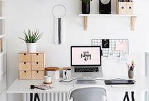 Home office / Um cantinho para estudar ou trabalhar com a sua cara!!!