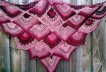 Crochet - poncho, scarf, shawl