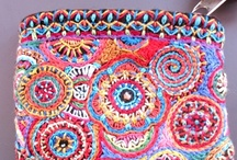 Crochet - bag, pouch and purse