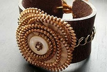 Jewelry - zipper and felt