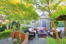 Houses - Cosy place to sit  / cosy interior, patio or garden seat