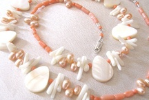 Jewelry - pearls, sea shells, coral