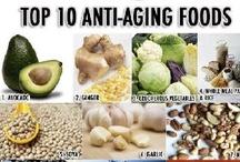 Health - anti aging herbs, food
