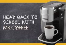 Back to School / Get ready for going back to school with Mr. Coffee! / by Mr. Coffee® Brand