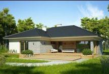 Domy, domki, ogrody - inspiracje