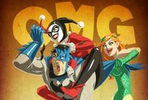 Comic & Dibu - FanArt / Distintas visiones de los superhéroes, villanos y demás fauna anime, dibujos y comic / by Belén Fernández