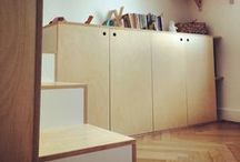plywood / home and plywood. Birch ply mostly. / by Emmanuelle Delahaye
