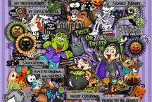 Halloween Digital Kits / about my Halloween Kits