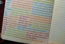 Creative writing and journaling