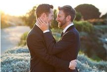 Gay Wedding Ideas / Gay wedding ideas - wedding rings, outfits, photography, cakes, flowers, etc!